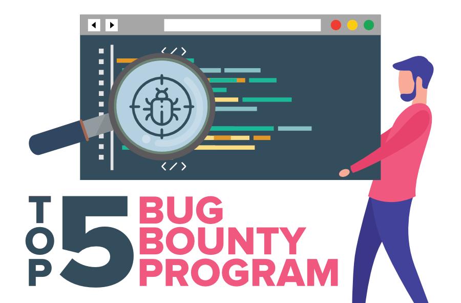 برای دیدن سایز بزرگ روی عکس کلیک کنید نام: Top-5-Bug-Bounty-Programs.png مشاهده: 17 حجم: 71.6 کیلو بایت